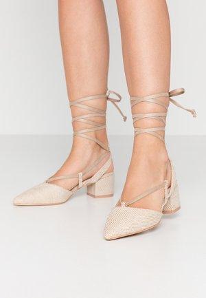 KAITLIN - Classic heels - dark beige