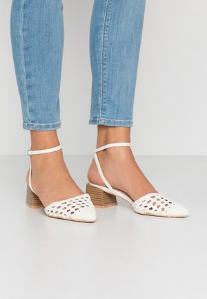 LAURA - Tacones - white