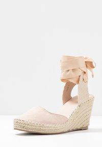 RAID - EADIE - Sandály na vysokém podpatku - nude - 4