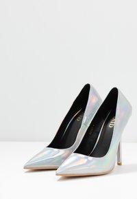BEBO - NEONA - Zapatos altos - silver - 4