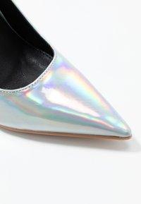 BEBO - NEONA - Zapatos altos - silver - 2