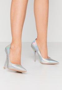 BEBO - NEONA - Zapatos altos - silver - 0