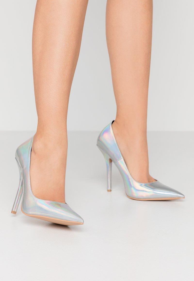 BEBO - NEONA - Zapatos altos - silver
