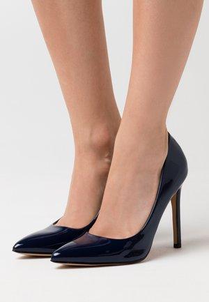 SAGE - Zapatos altos - navy