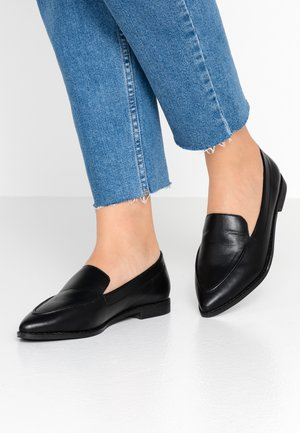 HENLEY - Loafers - black