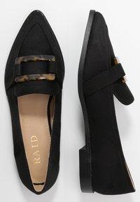 RAID - NYLAH - Scarpe senza lacci - black - 3