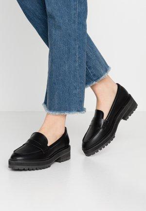 VENUS - Nazouvací boty - black