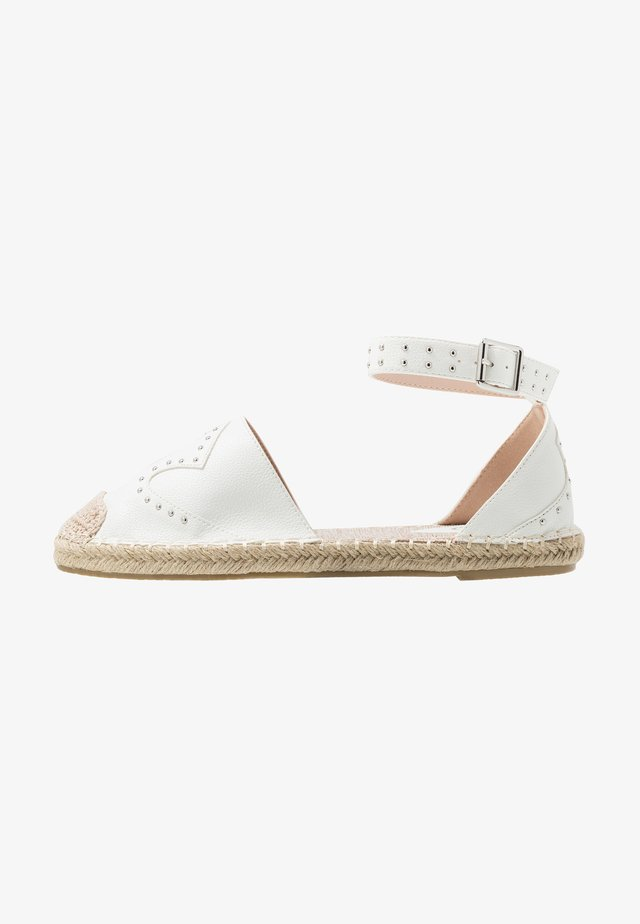 SHELBY - Espadrille - white