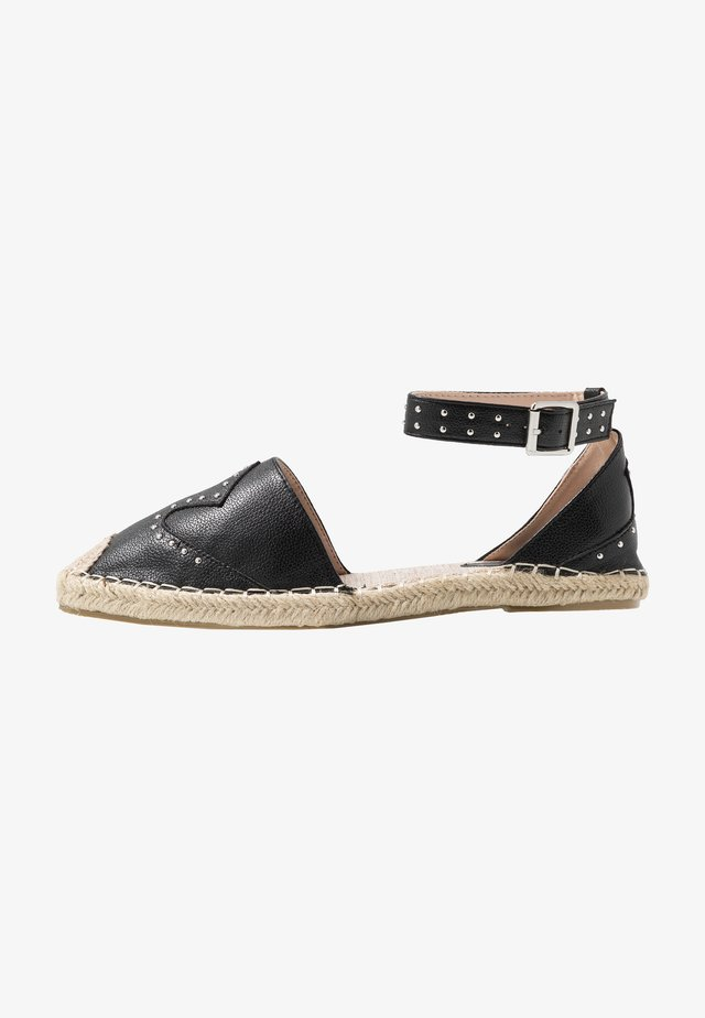 SHELBY - Espadrilles - black