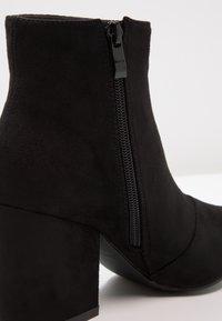 RAID - KOLA - Kotníková obuv - black - 6