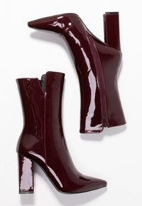 RAID - RILEY - Bottes à talons hauts - burgundy - 3