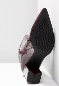 RAID - RILEY - Bottes à talons hauts - burgundy - 6