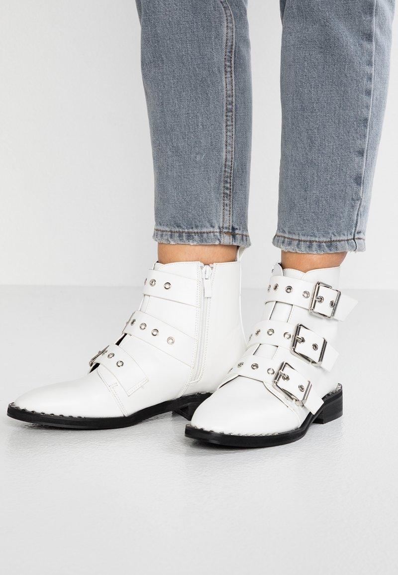 RAID - JACK - Cowboystøvletter - white