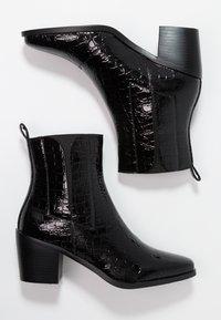 RAID - AMALIA - Kotníkové boty - black - 3