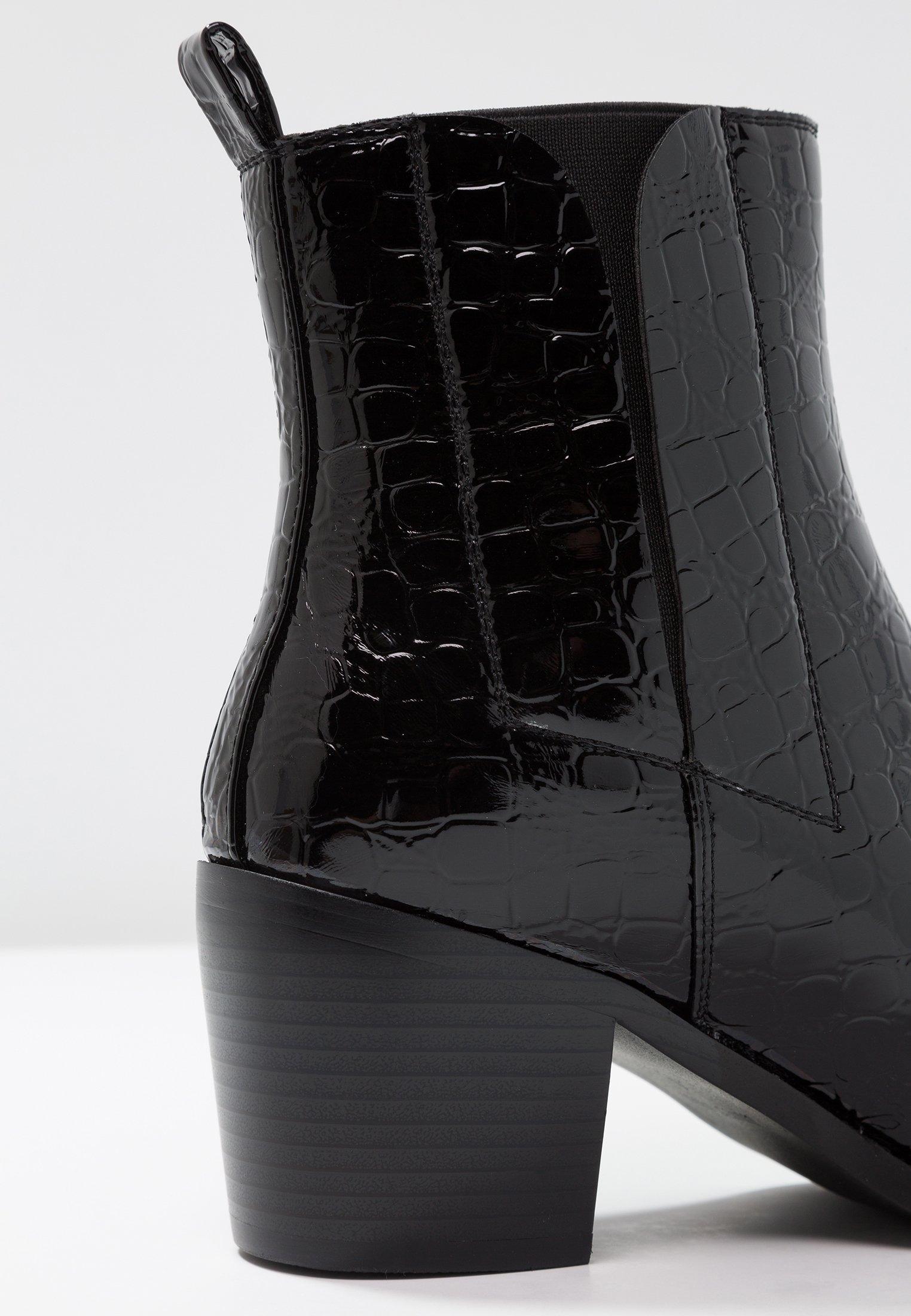 AMALIA Korte laarzen black