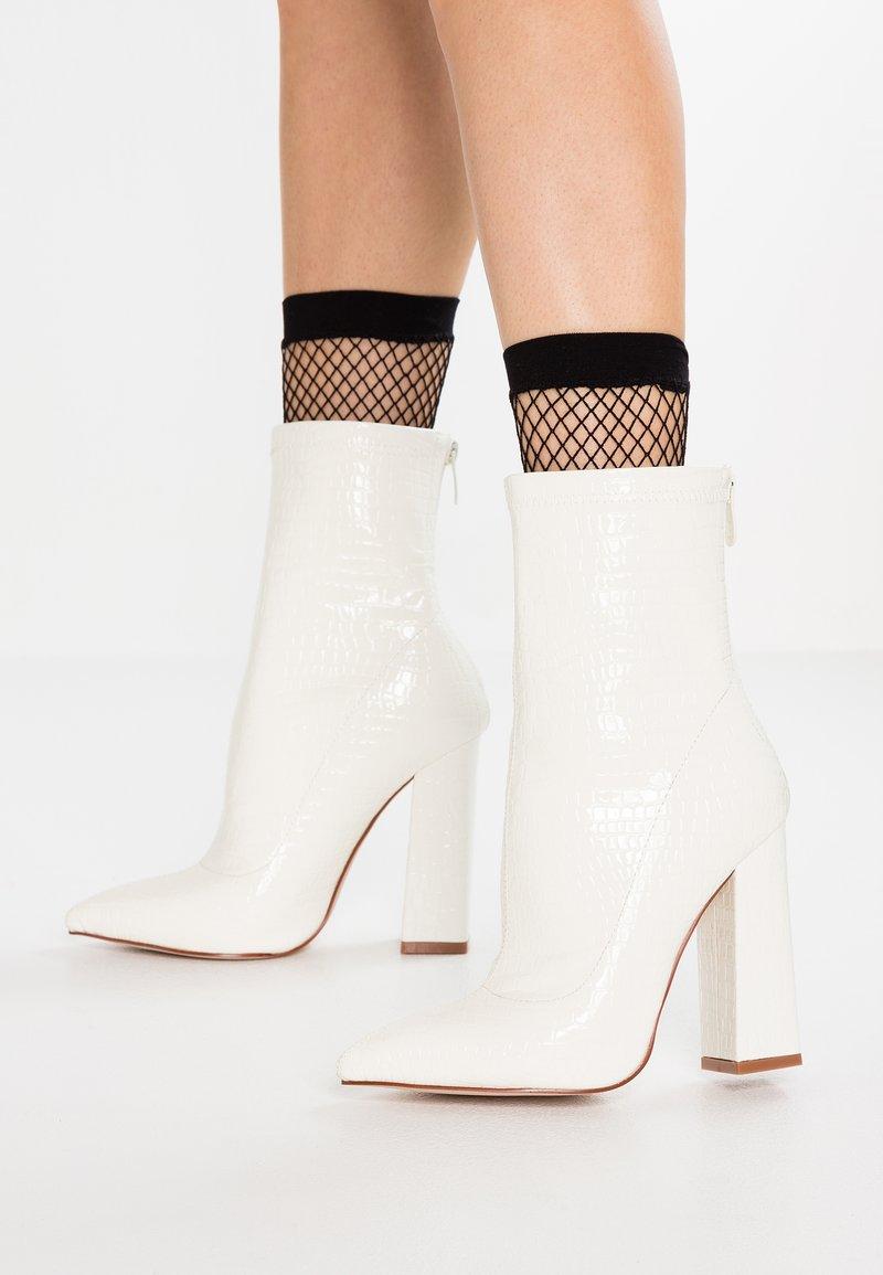 RAID - SASHA - High Heel Stiefelette - white