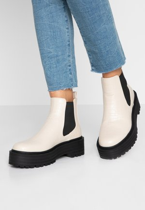 ROMINA - Boots à talons - offwhite