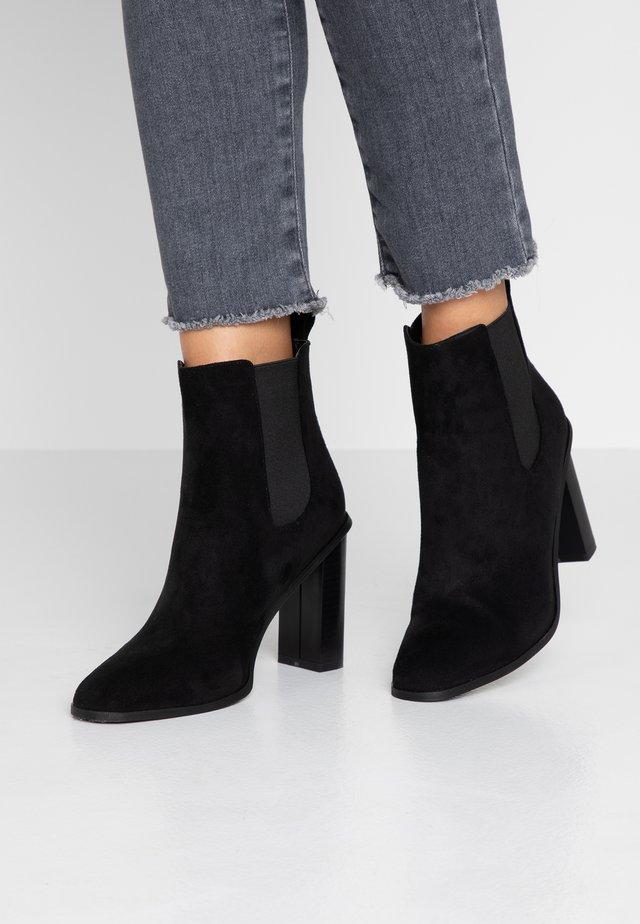 SCARLETTE - High heeled ankle boots - black