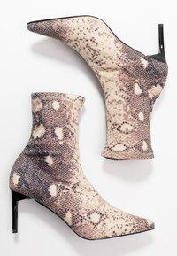 RAID - LILLIAN - Kotníkové boty - beige - 3