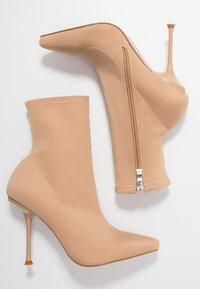 RAID - KADENCE - High heeled ankle boots - blush - 3