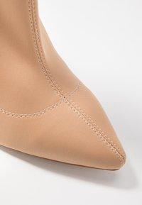RAID - KADENCE - High heeled ankle boots - blush - 2