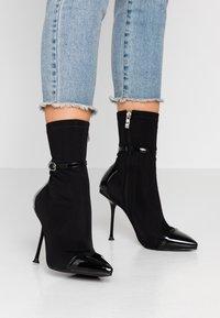 RAID - TIANNA - High heeled ankle boots - black - 0