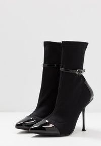RAID - TIANNA - High heeled ankle boots - black - 4