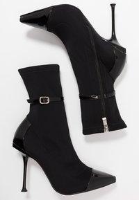 RAID - TIANNA - High heeled ankle boots - black - 3