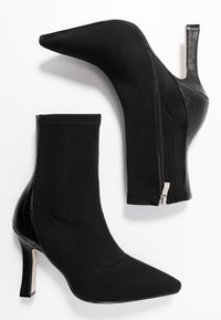 RAID - OLINIA - High heeled ankle boots - black - 3