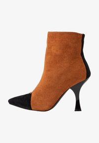 RAID - AILSA - High heeled ankle boots - black/tan - 1