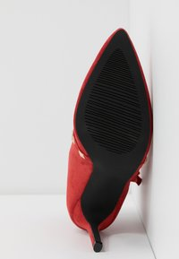 RAID - BRYONY - High heeled ankle boots - red - 6