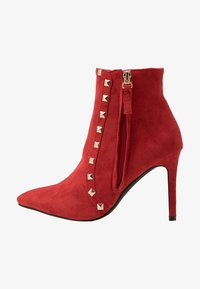 RAID - BRYONY - High heeled ankle boots - red - 1