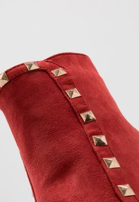 RAID - BRYONY - High heeled ankle boots - red - 2