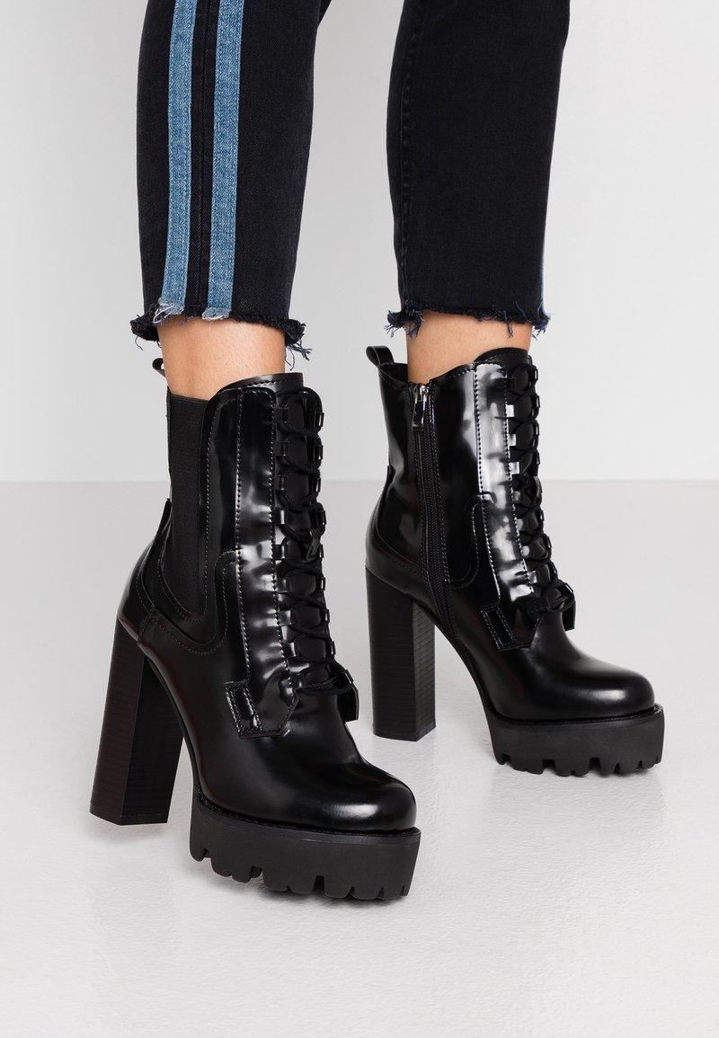 RAID - ASHLYN - Ankelboots med høye hæler - black