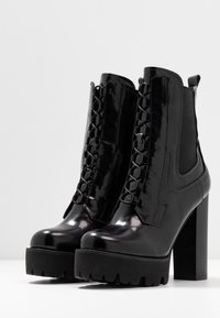 RAID - ASHLYN - Ankelboots med høye hæler - black - 4