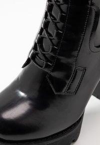 RAID - ASHLYN - Ankelboots med høye hæler - black - 2