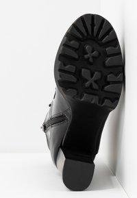 RAID - ASHLYN - Ankelboots med høye hæler - black - 6