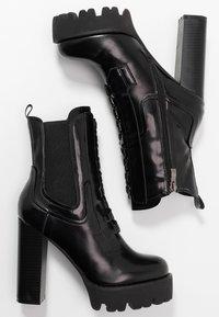 RAID - ASHLYN - Ankelboots med høye hæler - black - 3