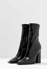 RAID - VALENCIA - Ankelboots med høye hæler - black - 4