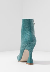 RAID - KATE - High heeled ankle boots - turquoise - 5