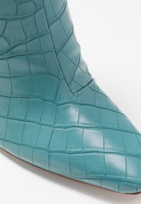 RAID - KATE - High heeled ankle boots - turquoise - 2