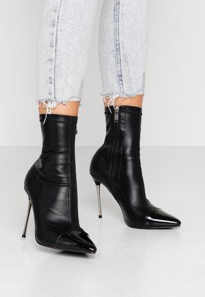 LIMONE - Bottines à talons hauts - black