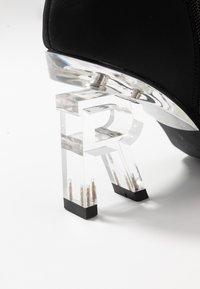 RAID - BRAZEN - Kotníková obuv na vysokém podpatku - black - 2