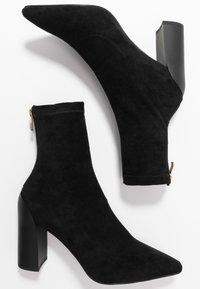 RAID - VANESSA - High heeled ankle boots - black - 3