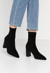 RAID - VANESSA - High heeled ankle boots - black - 0