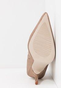 RAID - PRESCA - High heeled ankle boots - nude - 6
