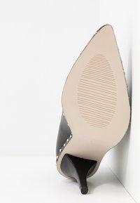 RAID - CATHY - Kotníková obuv na vysokém podpatku - black - 6