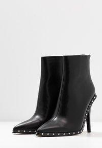 RAID - CATHY - Kotníková obuv na vysokém podpatku - black - 4