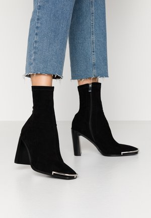 AMERIE - High heeled ankle boots - black