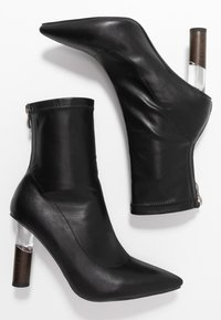 RAID - MARIE - High heeled ankle boots - black - 3